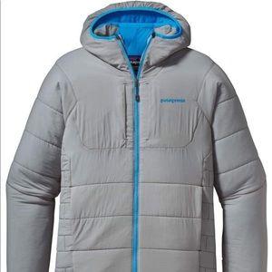 PATAGONIA lightweight down, hooded jacket